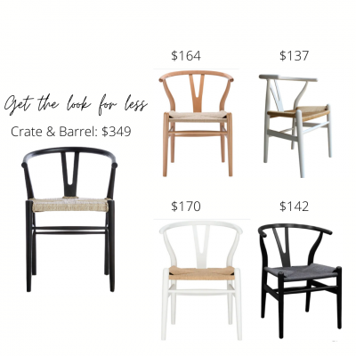 Look For Less: Woven Chairs